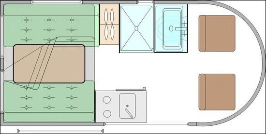 plan fourgon am nag moto plein phare. Black Bedroom Furniture Sets. Home Design Ideas