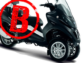 permis voiture pour moto moto plein phare. Black Bedroom Furniture Sets. Home Design Ideas