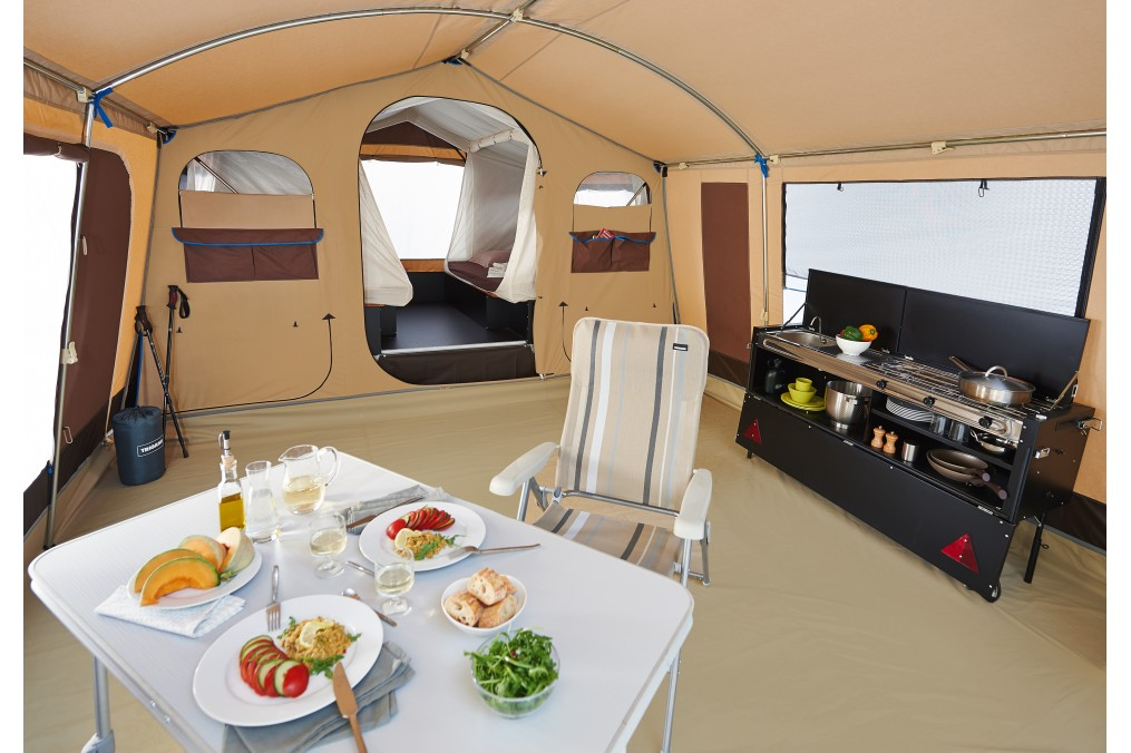 location caravane pliante toile moto plein phare. Black Bedroom Furniture Sets. Home Design Ideas