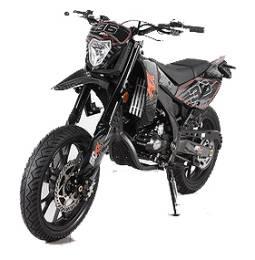 moto supermotard 50cc homologu route moto plein phare. Black Bedroom Furniture Sets. Home Design Ideas
