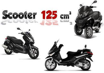 conduire scooter 125 avec permis b moto plein phare. Black Bedroom Furniture Sets. Home Design Ideas